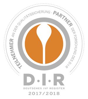 Freyja IVF Kinderwunschzentrum hagen ist Mitglied beim Deutschen IVF-Register e.V. (D·I·R)®